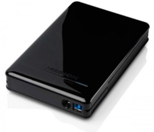 """Ab 1.12.: Externe 2TB Festplatte """"Medion P83790"""" mit USB 3.0 für 79,99€ @Aldi Süd"""
