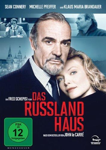 Amazon Prime : DVD  Das Russland Haus mit Sean Connery, Michelle Pfeiffer, Klaus Maria Brandauer  für nur 2,97 €
