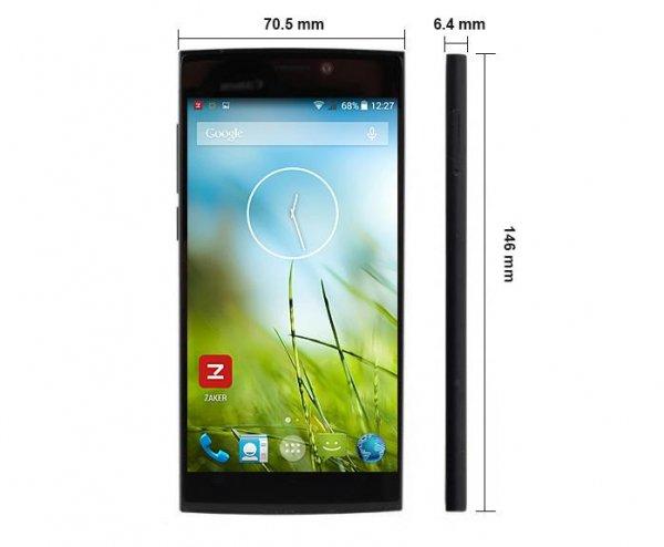 UMI ZERO 5-Zoll-Smartphone – Starker Octa-Core 2,0 GHz Prozessor (MT6592T), 2 GB RAM, 16 GB Speicher, 3G und Android 4.4.2
