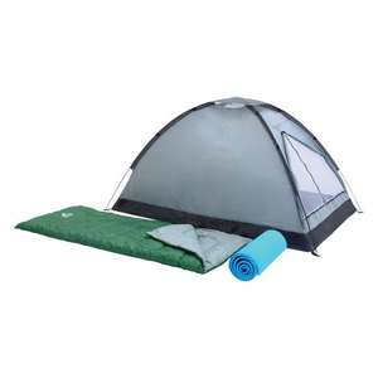 [Festival-Deal] Zelt für 2 Personen + 2 Isomatten + 2 Schlafsäcke für 59,95€ @ real