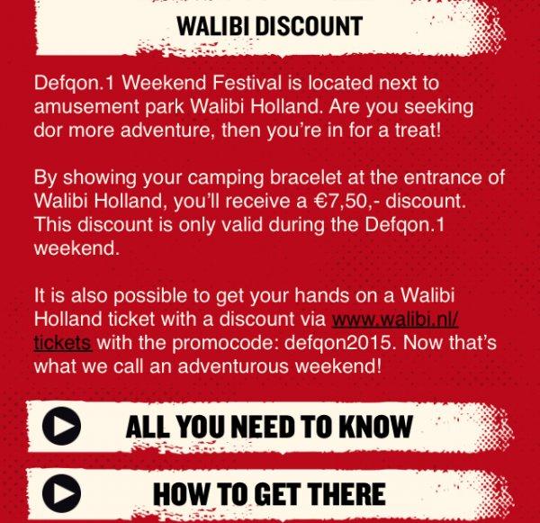 [Festival-Deal] WALIBI Freizeitpark