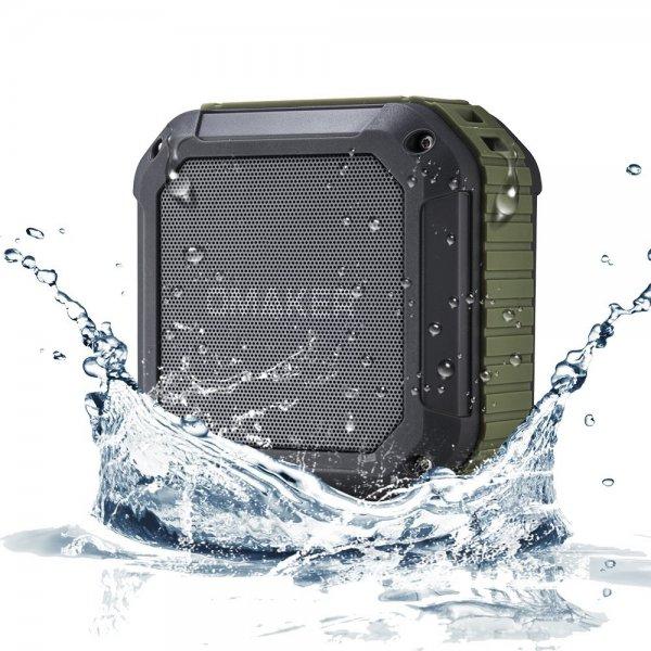 Omaker® Bluetooth 4.0 Lautsprecher mit 12 Stunden Spielzeit, NFC Technologie, geeignet für Outdoor/ Dusche/Festival Lautsprecher mit Telefonfunktion