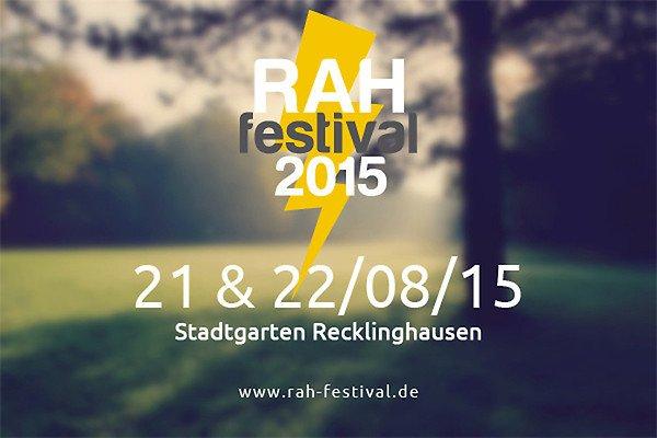 [Festival-Deal] Zwei 2-Tages-Tickets zum Preis von einem für das RAH-Festival in Recklinghausen / NRW