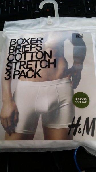 3 x Herren Boxershorts H&M Lokal + David Beckham Bodywear