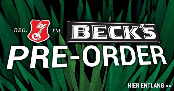 [Festival-Deal] Becks Pre Order 24 x 0.5l