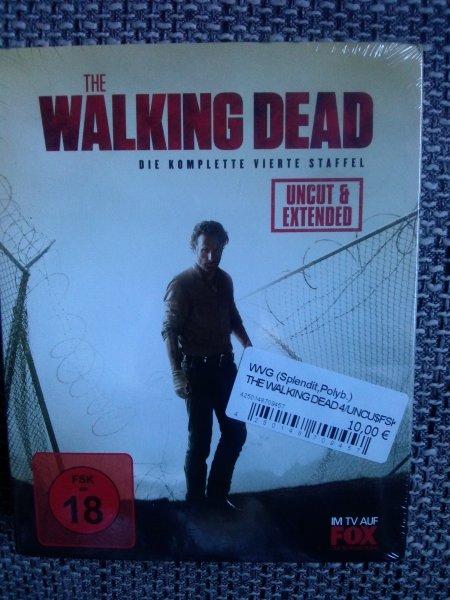 The Walking Dead 4. Staffel Blu-ray 10€  Expert Bening Minden