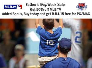 mlb.tv Premium 2015 für $59,49 USD | 50% OFF!!!