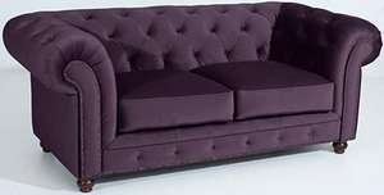 Max Winzer Chesterfield Sofa Couch lila 2-Sitzer, 1.179,94 EUR @ otto