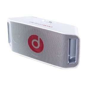 Beats by Dre BeatBox portable weiß Lautsprecher Bluetooth, 199,90 EUR @ notebooksbilliger