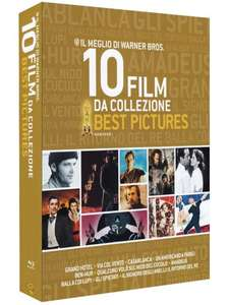 Best Pictures 10 Film Collection [Blu-Ray] für 23,47€ @Amazon.it