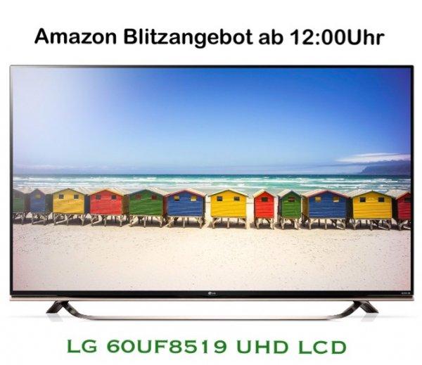 [Amazon Blitzangebot] LG 60UF8519 60Zoll UHD TV m. Harman Kardon effektiv f. 1.749€ statt 2.399€!