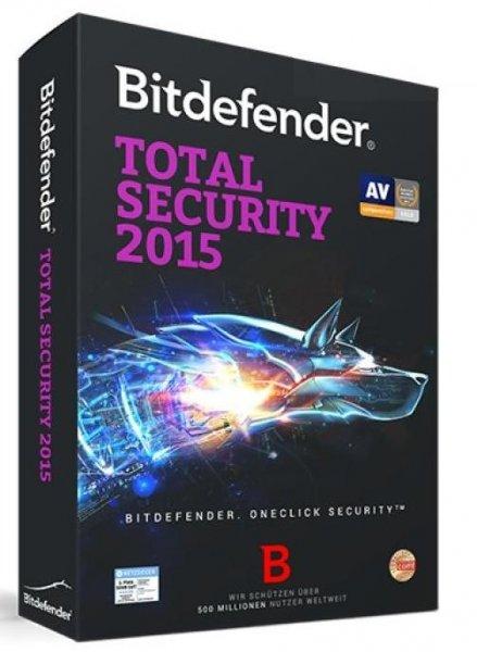 Bitdefender Total Security 2015 6 Monate