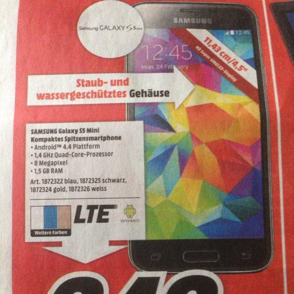 Samsung Galaxy S5 Mini Lokal mm trier