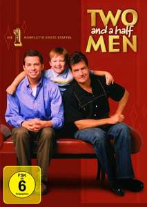 [Amazon Prime] Two and a Half Men Staffel 1 (4 DVD's) @WHD (wie neu) für 2,49 Euro