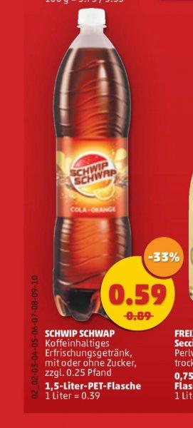 [Lokal] Schwip Schwap Cola&Orange 1,5L für