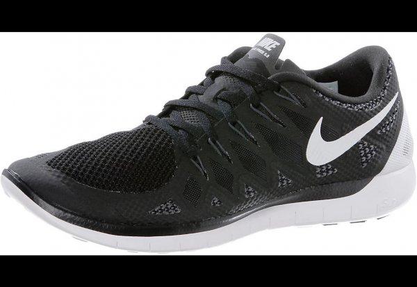 Nike Free 5.0 Laufschuhe - schwarz - für 53,90 € (statt 89,95 €)