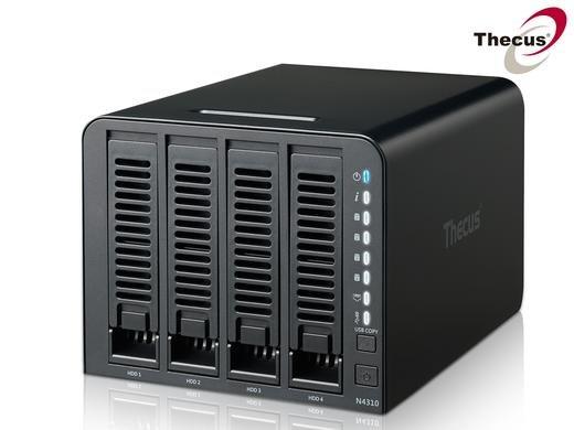 [iBOOD] Thecus N4310 4 Bay Mobile Access NAS Server - Leergehäuse - 169,95 + 5,95