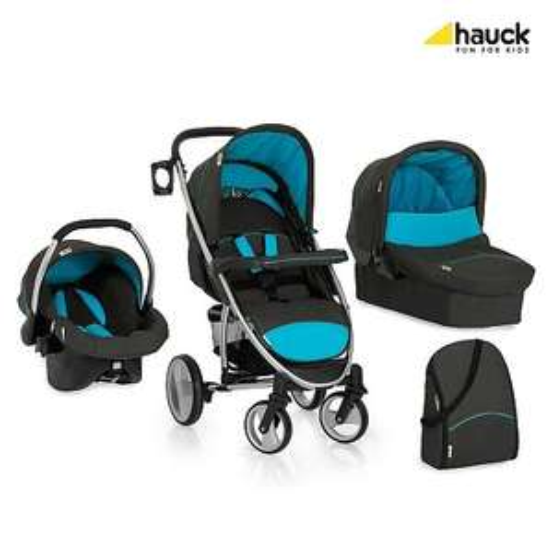 Hauck Malibu XL All in One Kinderwagen schwarz blau, 299,99 EUR @ toysrus