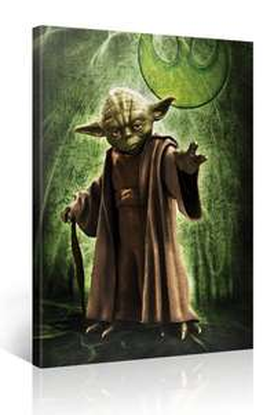Star Wars Leinwandbilder - 80 × 80 cm für 19,95 €, 130 × 80 cm für 25,90 € - sehr viele Motive zur Auswahl