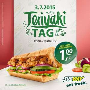 [Lokal] Teriyaki Tag Subway Hameln