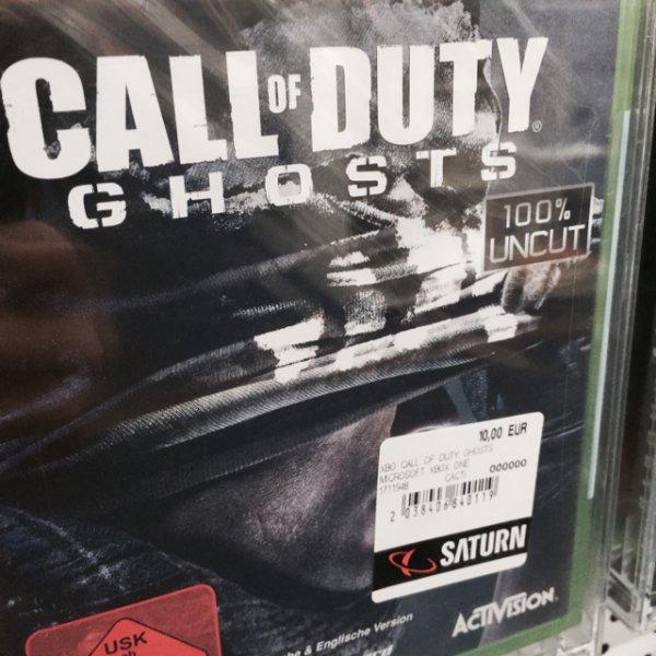 [Saturn Stuttgart ] Xbox One Call of Duty Ghost für 10€