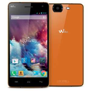 "Wiko Highway Smartphone 4G  (5"", FHD, 2GHz Quad-Core, LTE, 16 MP Kamera, 8 MP Frontkamera, 16GB, 2GB RAM) für 219,92 € @Amazon.fr"