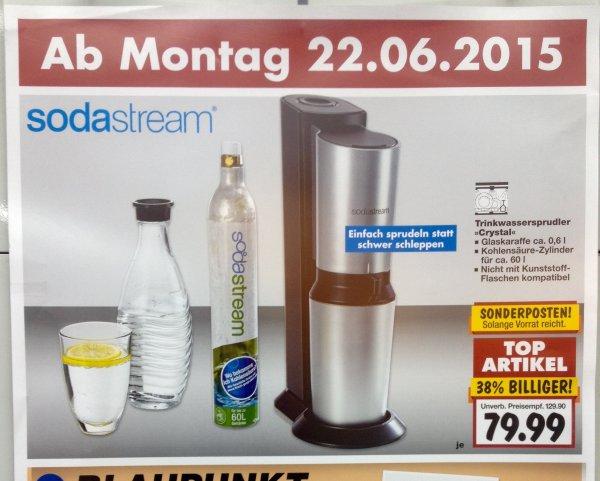 [Kaufland] Sodastream Crystal mit einer Flasche