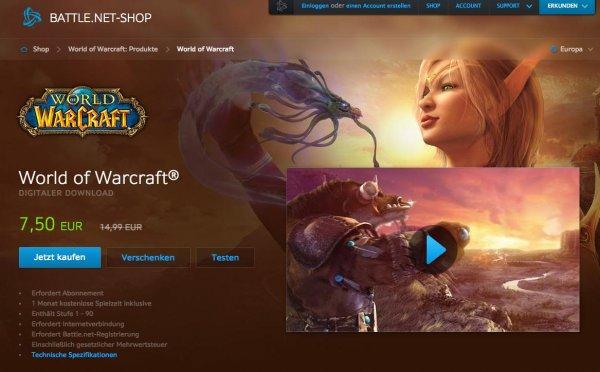 World of Warcraft günstigste Spielweise | Guide | Hauptspiel + 4 Addons für 7,50€