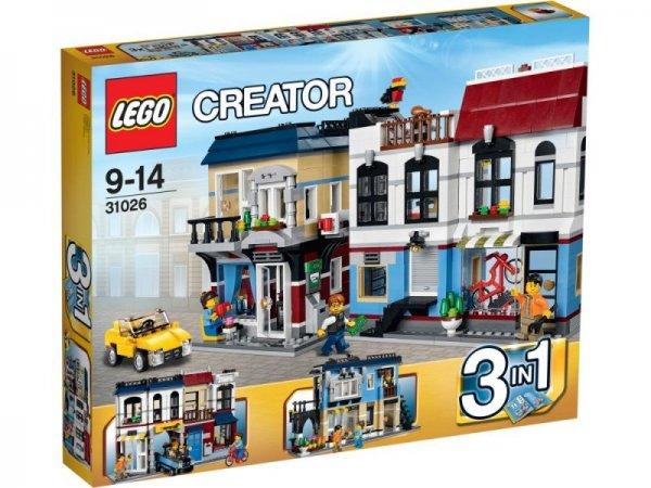 LEGO Creator 31026 Fahrradladen und Cafe für 47,59€ (bestpreis)