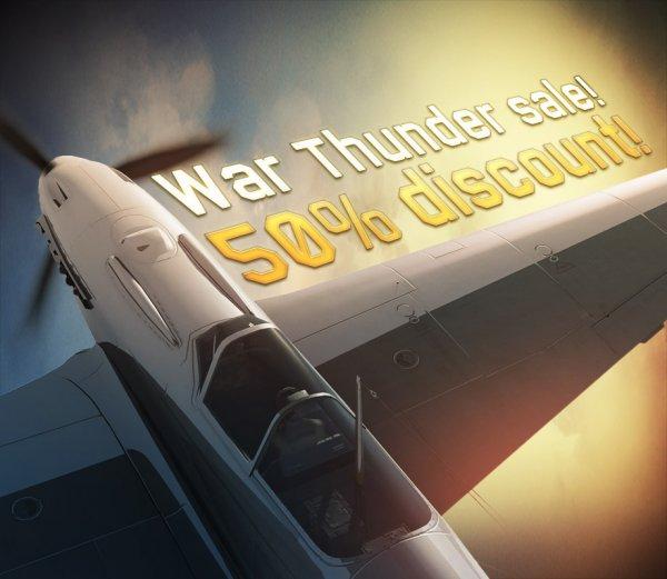 """""""War Thunder"""" 50% Rabatt auf 'Dora', 'P-47M' und 'La-7' Pakete (11,50€-15,00€)"""