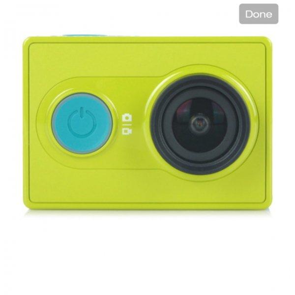 (Festival-Deal) Xiaomi Xiaoyi 1080P 16MP CMOS Sports Camera Camcorder w/ Wi-Fi / Bluetooth V4.0 - Green