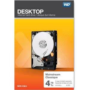 [Amazon.co.uk] *Versand nur nach UK* - WD Desktop Everyday 4 TB HDD ca. 97,73 €