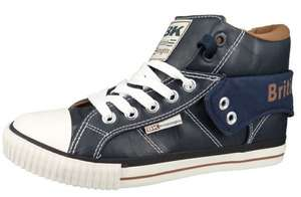 "British Knights Sneaker ""Roco"" Navy / Cognac Größe 44 u. 45"