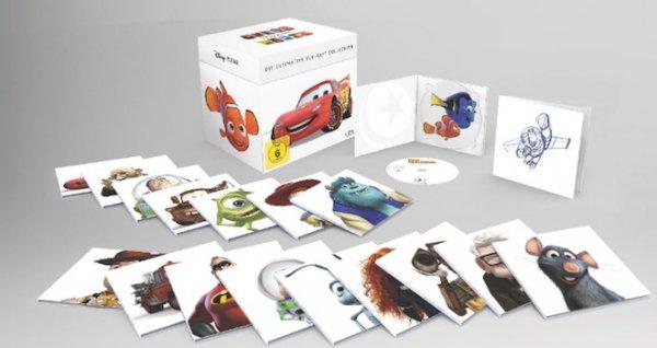 [real.de] Disney Pixar Box / Collection - 18 DVDs - 40 € zzgl Versand 4,95 € oder kostenlose Marktlieferung