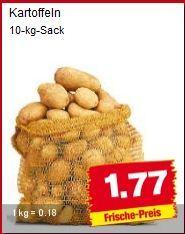 10 kg Kartoffeln für 1,77 EUR @ PENNY Markt