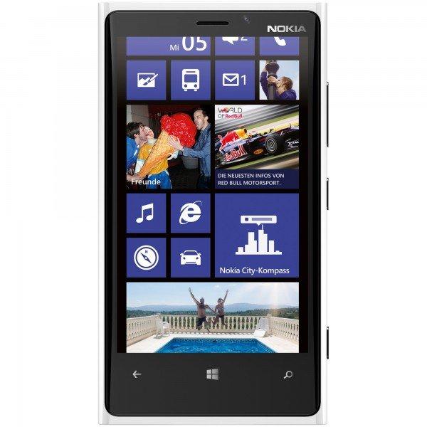 [Getgoods] Nokia Lumia 920 Smartphone (11,4 cm (4,5 Zoll) WXGA HD IPS LCD Touchscreen, 8 Megapixel Kamera, 1,5 GHz Dual-Core-Prozessor, NFC, LTE-fähig, Windows Phone 8) gloss white für 179,98€ inc.Versand