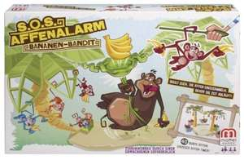 [Amazon WHD] S.O.S. Affenalarm Bananen-Bandit von Mattel ab €6,09 statt ca. 18€