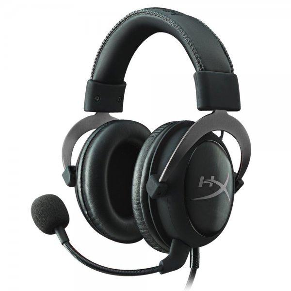 HyperX Cloud II Gaming Headset für PC/PS4/Mac gun metal für 84,85€ @ ZackZack