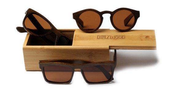 handgemachte Sonnenbrillen aus Holz