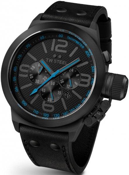 TW Steel Herren-Armbanduhr XXL Canteen Style Chronograph Leder TW-904 inkl. Vsk für 112,63 € > [amazon.it]