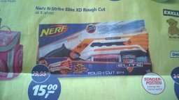 [Real Detmold - Bundesweit?] Nerf N-Strike Elite XD Rough Cut 15€     PVG 19,99€