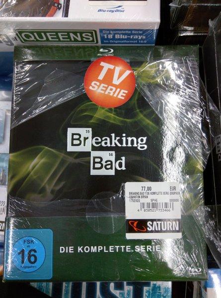 [Lokal - Braunschweig - Saturn] Breaking Bad Blu-Ray Komplettbox 77€