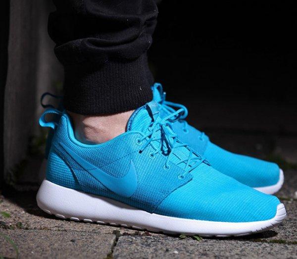 Nike Roshe Run in türkis (blue lagoon) für nur 43,64 € bei Sidestep
