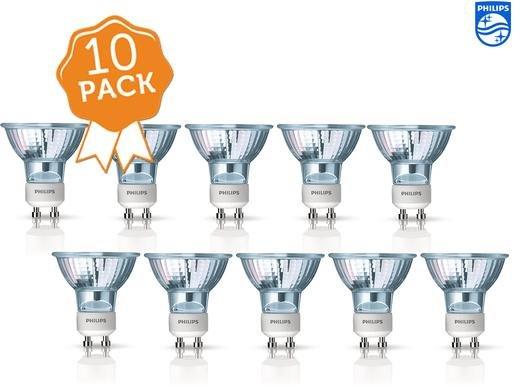 [Ibood] 10x Pack Philips Ecohalo Twistline,25W,GU10, 821598 Reflektor GU10 / GZ10, 25 Watt, Energieeffizienzklasse D für 15,90€ inc.Versand