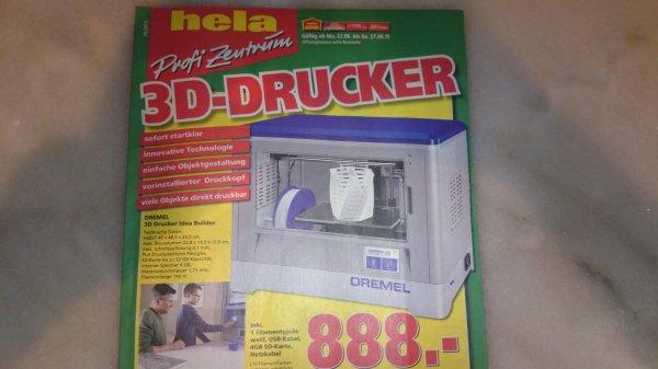 [Hela/Globus Baumarkt]Dremel 3D-Drucker