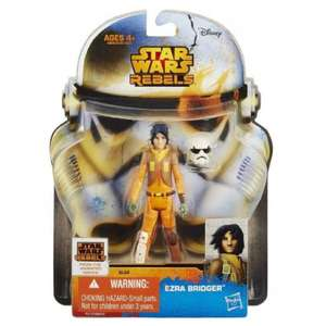 [LOKAL] Real Markt - Star Wars SAGA Rebels 3 3/4 Figuren u.v.a.
