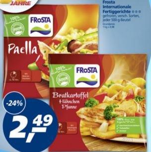 [bundesweit] Frosta Fertiggerichte für 2,49€ bei Real