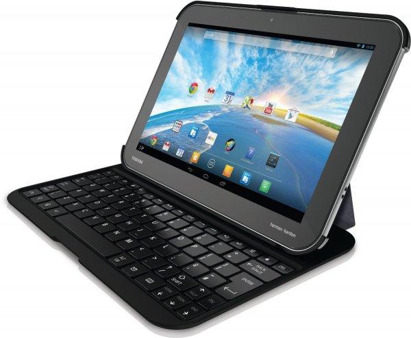 "[Amazon.de WHD] Toshiba AT10PE-A-105 Tablet + Tastatur-Cover + Digitizer Stift / 10,1"" 2560x1600p / 32GB ROM / 2GB RAM / 1,8GHz NVIDIA QuadCore"