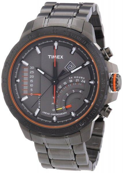 [amazon.de] Wieder zum Preis von 109€ vorbestellbar: Timex IQ Linear Indicator T2P273 Herren Edelstahl-Chronograph!