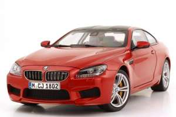 BMW 6er M Coupé (F13M) sakhirorange Miniatur 1:18 | leebmann24